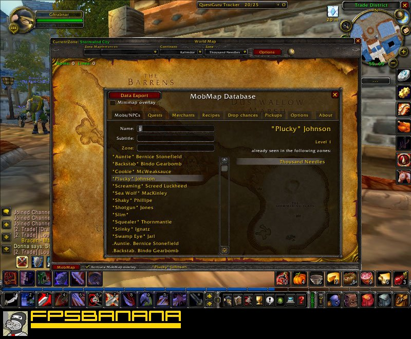 Mobmap World Of Warcraft Modding Tools