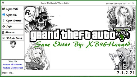 GTA V Savegame Editor (PC)