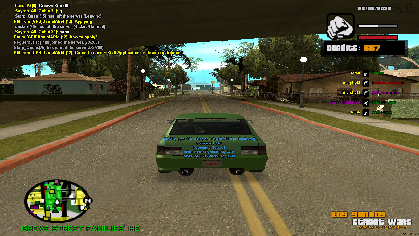 San andreas: multiplayer download.