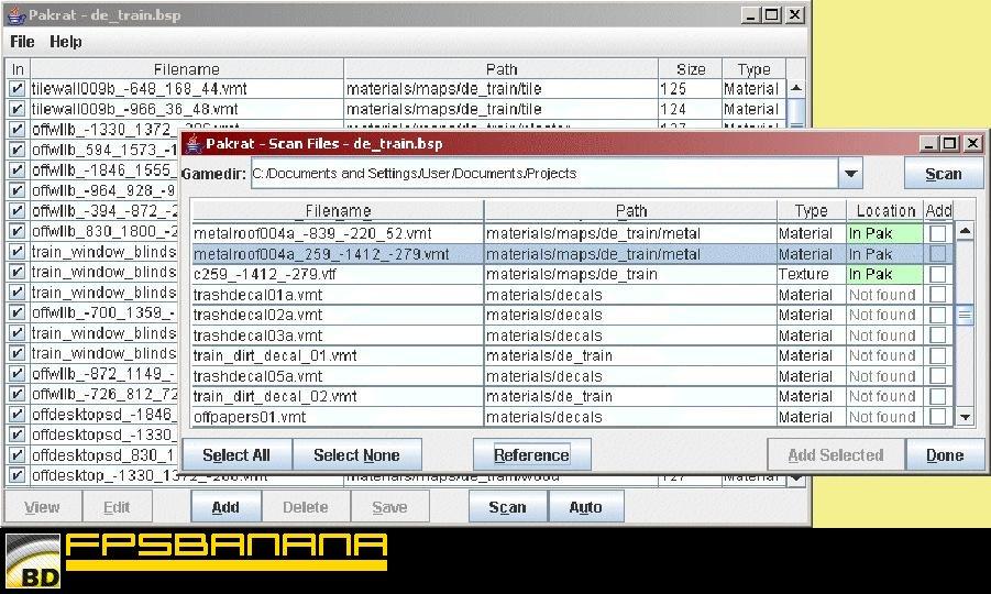 PakRat Tool screenshot #1
