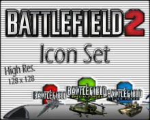 Battlefield 2 Icon Set preview