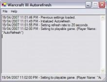 Warcraft III AutoRefresh preview