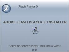 Adobe Flash Player 9 preview