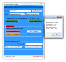 Source Server Installer 2.0 Tool preview