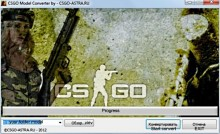 CS:GO Model Converter in CS:S Tool preview