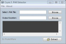 Crysis 3 .PAK Extractor/Decrypter preview