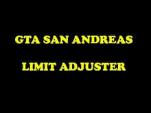 San Andreas Limit Adjuster Tool preview
