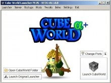 CubeWorld Launcher PLUS preview