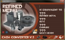 TF2 Cash Converter V2 Tool preview