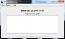 Material Enumerator Tool preview