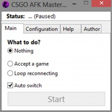 CS:GO Afk Master [And Auto Accepter] Tool preview