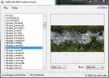 BSP Texture Tools Tool preview