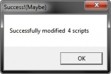 internal script modder Tool preview