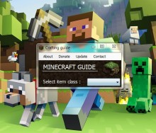 [v2.0] Minecraft Crafting Guide preview