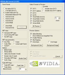 Nvidia dds Format preview
