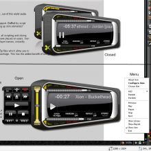 Xion audio player Tool preview