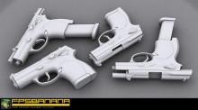 Video Tutorials on Modelling a Beretta 9000