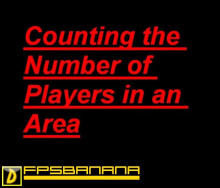 Counting the Number of Players in an Area