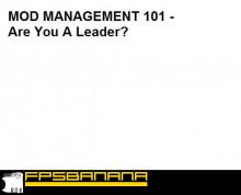 Mod Manage 101