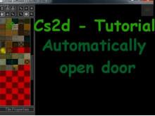 Automatic open door + message