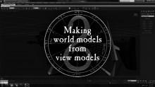 Creating World Models from Viewmodels