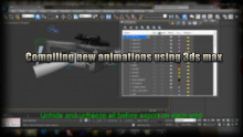 Exporting and compiling new animations with 3DSMax