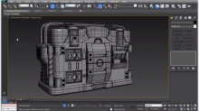 Using the Swift Loop Tool in 3ds Max