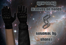 How to rig sleeves on hands