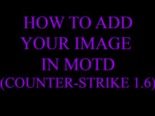 How to customize Counter-Strike MOTD