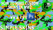How to make custom textures in MW2 - Tutorial #1