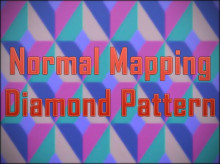 Normal Mapping Diamond Pattern for Photoshop