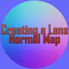 Creating a Lens Normal with Photoshop or 3DSMax