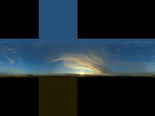 [RUS] [PS]Skybox из панорамного фото.