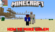 How to make Golem in Minecraft