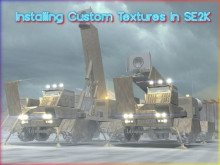 Installing Custom textures in SE2K