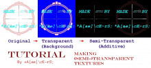 Making (SEMI-)Transparent Textures