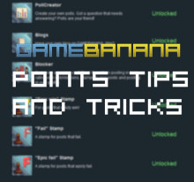 Points tips and tricks