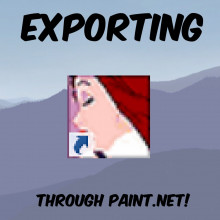 Paint.NET: Exporting Images in .VTF Format