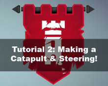 Besiege Tutorial #2 - Making a Catapult & Steering