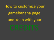 how to customize your GB page
