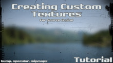 How to make custom textures