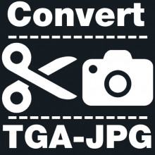 How to batch convert .TGA files to .JPG using GIMP