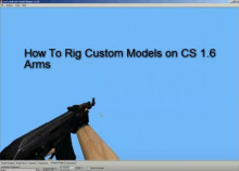 [PT] Rig Weapons On CS 1.6 hands