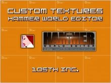 Custom  Textures  for Hammer World Editor