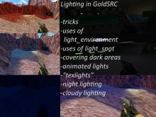Manipulating light in GoldSRC