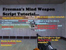 Freeman's Mind Weapon Script