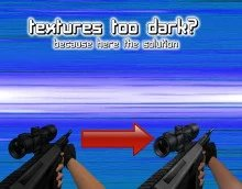 textures too dark? here the solution