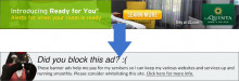 Detecting Ad Blockers (My Way)