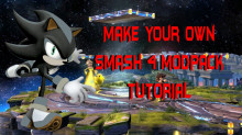 How to make your own Smash 4 modpack (Video)