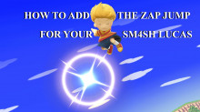 How to Add the Zap Jump for your Lucas Moveset Mod